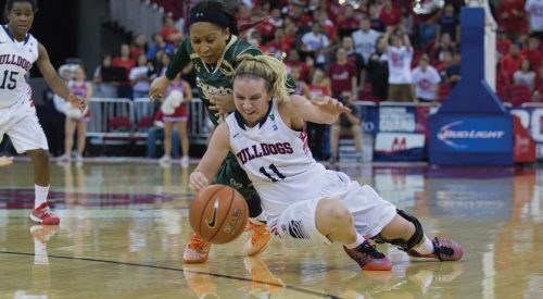 Women's Basketball: Turnovers cost 'Dogs in San Jose article thumbnail mt-3