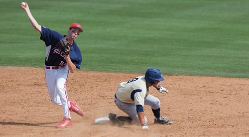 Baseball: 'Dogs conclude weekend with close loss article thumbnail mt-3