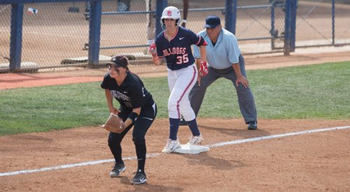 Softball: 'Dogs sweep Rams in conference opener article thumbnail mt-3