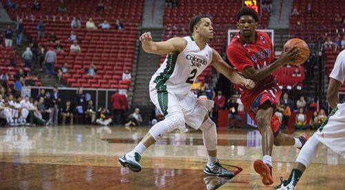 Men's Basketball: Quick exit - 'Dogs fall flat in first game of MW tourney article thumbnail mt-2