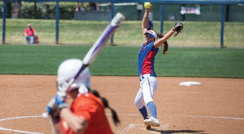 Softball: 'Dogs remain atop conference with weekend sweep article thumbnail mt-3