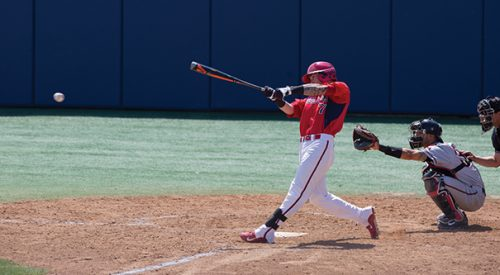 Baseball: 'Dogs top in-state rival, move into tie for third place article thumbnail mt-3