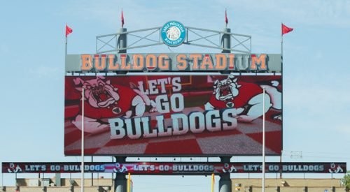 Bulldog Stadium renovations kick off with new HD video board article thumbnail mt-3