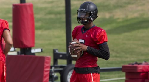 Freshman QB making a case for starting position article thumbnail mt-3