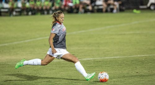 Women's Soccer: 'Dogs blanked by Wyoming with Fanny Johansson back on the field article thumbnail mt-3