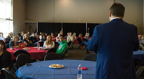 Campus concerns heard during president's forum article thumbnail mt-3