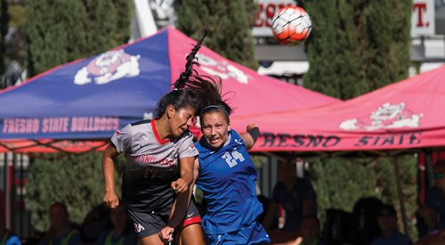 Soccer: 'Dogs give up scoring spree on the road article thumbnail mt-3