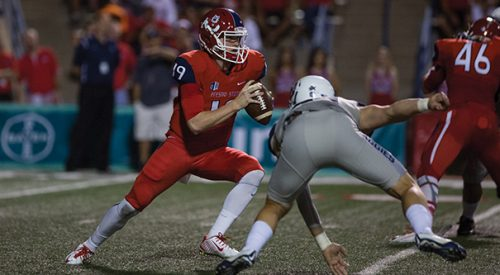 Football: 'Dogs turn to Anderson to lead offense article thumbnail mt-3
