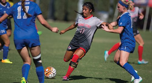 Soccer: 'Dogs strike late to beat Air Force article thumbnail mt-3