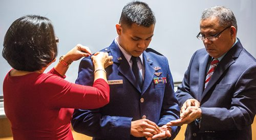 Bulldog Cadets Honored at Commissioning Ceremony article thumbnail mt-3