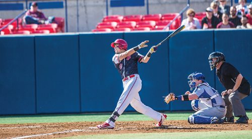 Baseball: Diamond 'Dogs open season with three-game sweep of Creighton article thumbnail mt-3