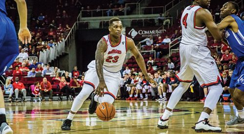 Men's Basketball: Marvelle Harris puts on late show in Bulldogs' 64-63 win over Falcons article thumbnail mt-3