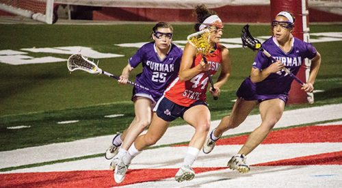 LAX: 'Dogs control second half to pull away from Furman article thumbnail mt-3