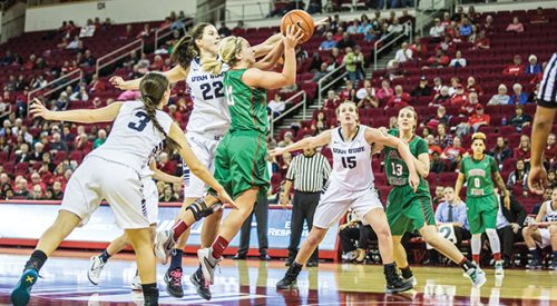 Women's Basketball: 'Dogs go out with a win on Senior Night, enter MW Tournament as No. 2 seed article thumbnail mt-2