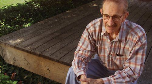 Philip Levine's legacy remembered by student article thumbnail mt-3