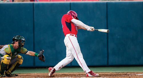 Baseball: 'Dogs get swept in three-game series at New Mexico article thumbnail mt-3