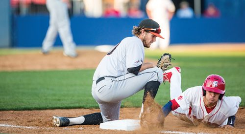 Baseball: Errors, pitching woes cost 'Dogs in 7-3 loss to Pacific article thumbnail mt-2