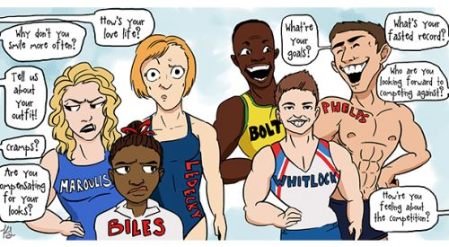Sexism in the Olympics article thumbnail mt-3