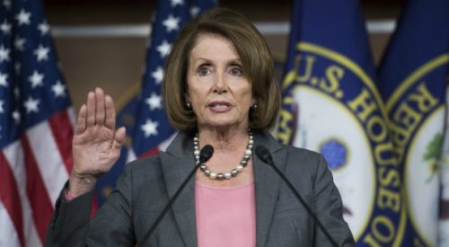Nancy Pelosi re-elected as minority leader article thumbnail mt-3