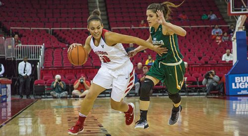 Women's basketball goes 1-and-1 article thumbnail mt-3