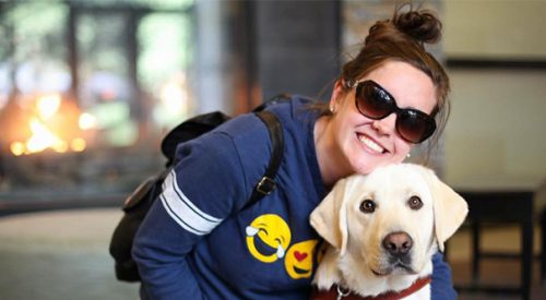 Student invited to dinner after guide dog dispute article thumbnail mt-3
