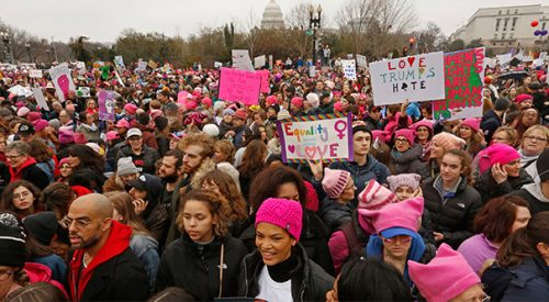 Some women at Trump's inauguration are baffled by Saturday's Women's March article thumbnail mt-3