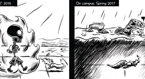 From burning to swimming across campus article thumbnail mt-3