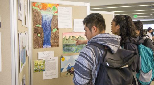 'Water' you learning about? Students showcase water sustainability projects article thumbnail mt-3