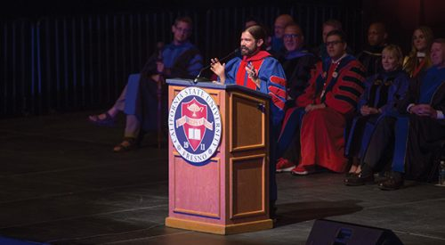 Convocation '17: Professor Jes Therkelsen wants Fresno State students to 'have the courage to be curious' article thumbnail mt-3