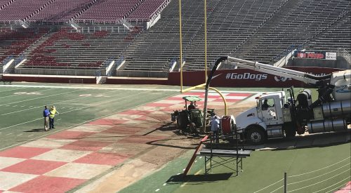 Section of Bulldog Stadium to be closed Saturday after pipe burst article thumbnail mt-3