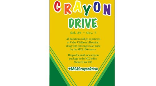 Students hope to make a child's day with a pack of crayons and a coloring book article thumbnail mt-3
