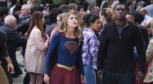 'Supergirl' cast talks crossover and new characters article thumbnail mt-3