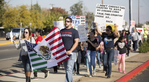 PHOTOS: Students take to the street to demand immigration reform article thumbnail mt-2