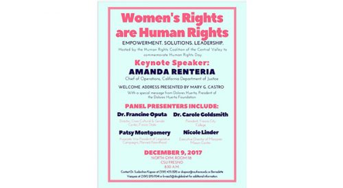 Women's rights to center human rights event at Fresno State article thumbnail mt-3