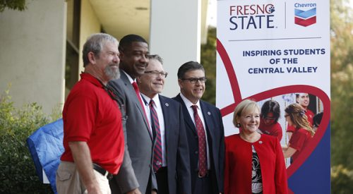 Chevron donates to Fresno State STEM students article thumbnail mt-3