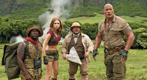 'Jumanji' sequel lacks nostalgia with its updated version of a family favorite article thumbnail mt-3