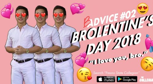 Badvice: Alone this Valentine's Day? Celebrate 'Brolentine's Day' article thumbnail mt-3