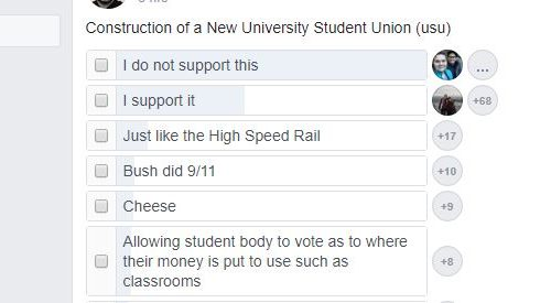 Poll shows little support for New USU. A sign of things to come? article thumbnail mt-3