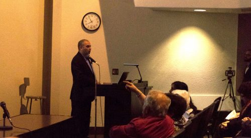 Scholar gives lecture on interpretations of Armenian history article thumbnail mt-3