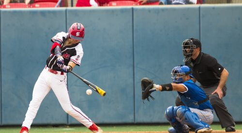 A lot of hits but no runs: Bulldogs lose series to Spartans article thumbnail mt-3