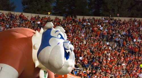 You won't have to leave your house to watch the Bulldog's football home opener. Here's why article thumbnail mt-3