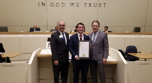 City of Fresno declares April 5 as 'Blake Zante Day' article thumbnail mt-3