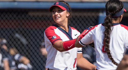 Danielle East throws a no-hitter in first MW road series article thumbnail mt-3