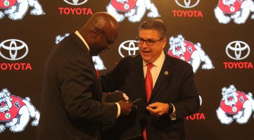 Terry Tumey officially in as Fresno State's new athletic director. First day is Aug. 1 article thumbnail mt-3