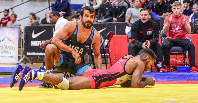 Fresno State wrestling coach to compete at World