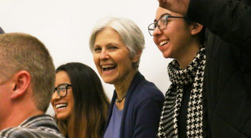 VIDEO: Jill Stein visits Fresno State to talk about political, economic 'systemic problems' article thumbnail mt-3