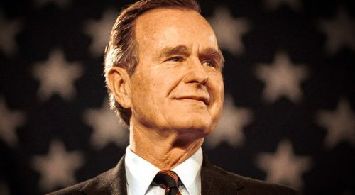 Former Pres. George H. W. Bush, dead at 94, once called Red Wave tailgate 'the fanciest' article thumbnail mt-3