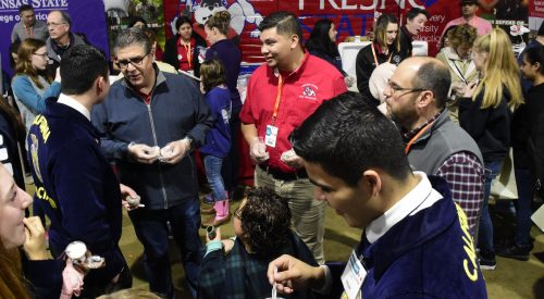 Students represent Fresno State at the World Ag Expo article thumbnail mt-3
