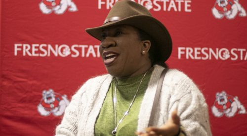 #MeToo founder Tarana Burke shares her message of accountability at Fresno State article thumbnail mt-3