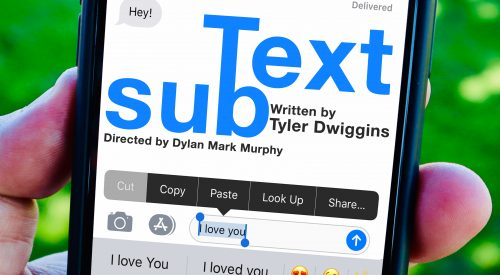 "Student-run theatre presents latest show ""subText"" this weekend article thumbnail mt-3"
